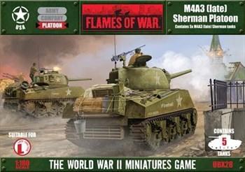 M4A3 (late) Sherman Platoon*
