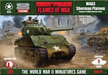 M4A3 Sherman Platoon