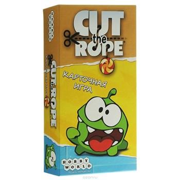 Настольная игра: Cut The Rope. Карточная игра, арт. 1257