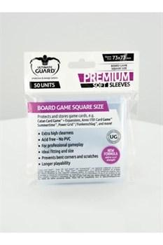 Ultimate Guard - Протекторы для настольных игр (73х73) 50 штук