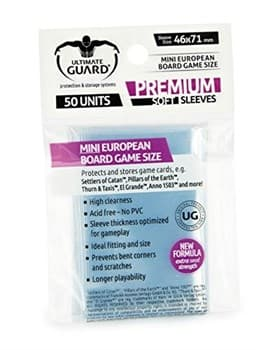 Premium Sleeves: BG Mini European (46x71)