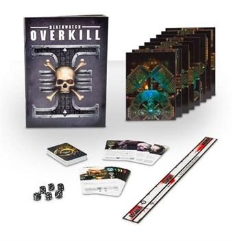 Поле, правила и карты Deathwatch Overkill