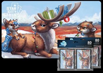 Комплект (Коврик + Протекторы): Reindeer