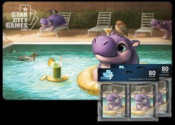 Комплект (Коврик + Протекторы): Hippo