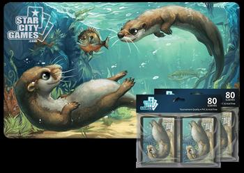 Комплект (Коврик + Протекторы): Otter