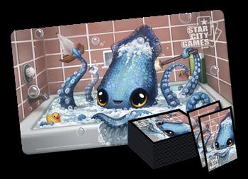 Комплект (Коврик + Протекторы): Kraken