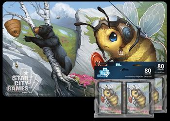 Комплект (Коврик + Протекторы): Bee