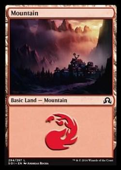 Mountain (#294) FOIL