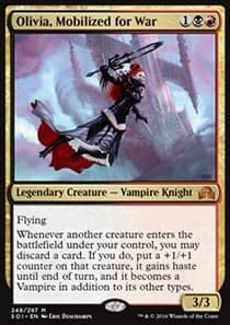 Olivia, Mobilized for War FOIL