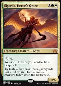 Sigarda, Heron's Grace FOIL