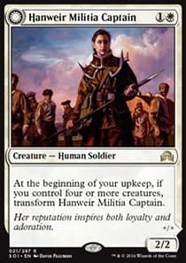 Hanweir Militia Captain \\ Westvale Cult Leader FOIL