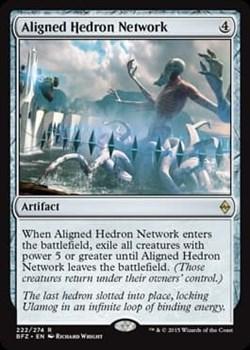 Aligned Hedron Network FOIL