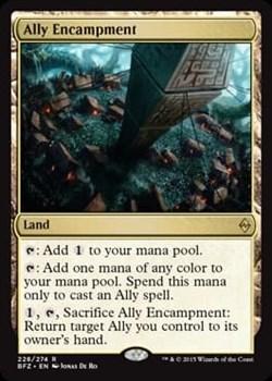 Ally Encampment FOIL