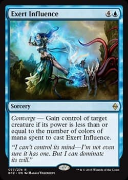 Exert Influence FOIL