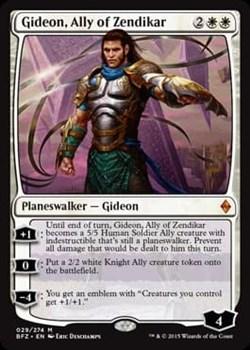 Gideon, Ally of Zendikar FOIL