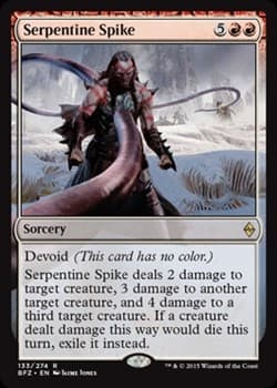 Serpentine Spike FOIL