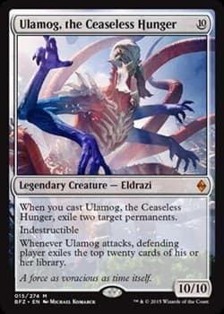 Ulamog, the Ceaseless Hunger FOIL