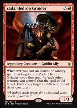 Zada, Hedron Grinder FOIL