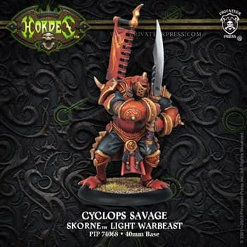 Skorne Cyclops Savage PLASTIC BOX