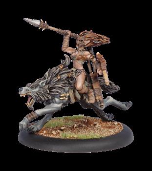 Circle Orboros Tharn Wolf Rider BLI