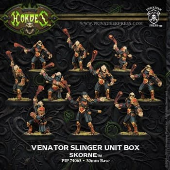 Skorne Venator Slingers Unit Box