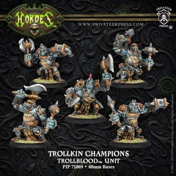 Trollblood Trollkin Champions Unit BOX*