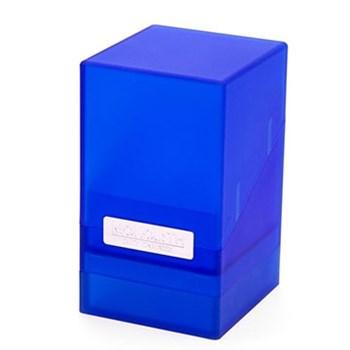 """Коробочка """"Монолит"""" с отделением для кубиков сапфировая (NEW)"""