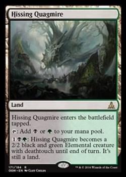 Hissing Quagmire FOIL