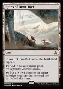 Ruins of Oran-Rief FOIL
