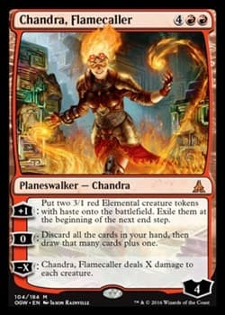Chandra, Flamecaller FOIL