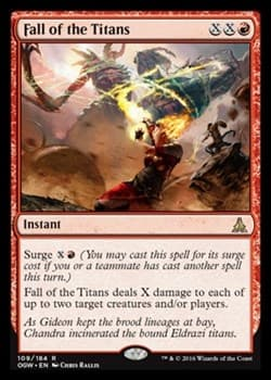 Fall of the Titans FOIL