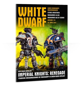 Журнал Белый Дварф Еженедельный (англ.)(White Dwarf Weekly 116)