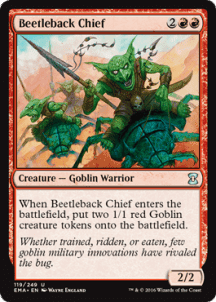 Beetleback Chief Foil