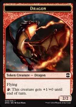 Dragon Token Foil