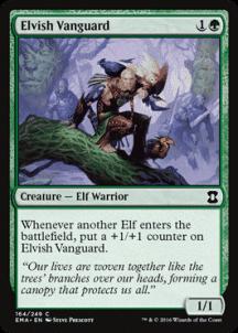 Elvish Vanguard Foil
