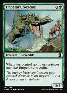 Emperor Crocodile Foil