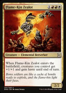 Flame-Kin Zealot Foil