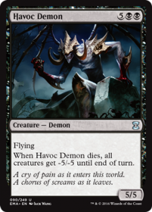 Havoc Demon Foil