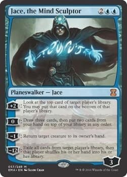 Jace, the Mind Sculptor Foil