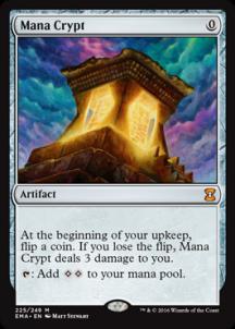 Mana Crypt Foil