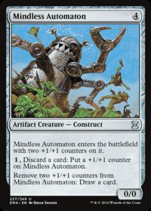 Mindless Automaton Foil