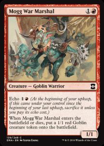 Mogg War Marshal Foil