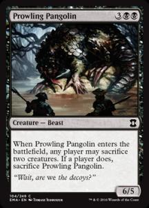 Prowling Pangolin Foil