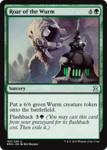 Roar of the Wurm Foil