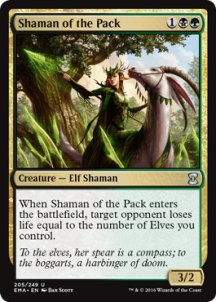 Shaman of the Pack Foil