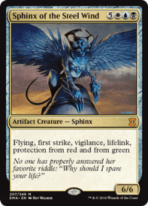 Sphinx of the Steel Wind Foil