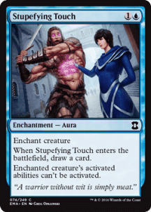 Stupefying Touch Foil