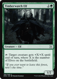 Timberwatch Elf Foil