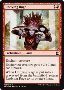 Undying Rage Foil