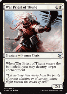 War Priest of Thune Foil